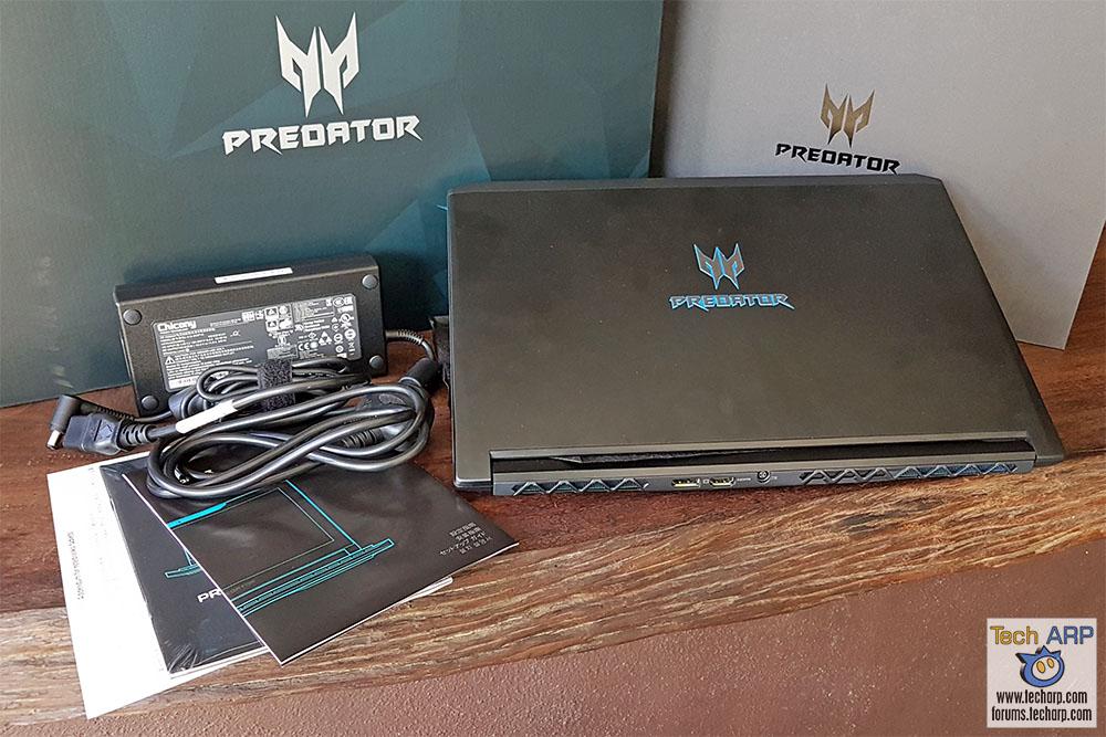 Acer Predator Triton 700 box contents