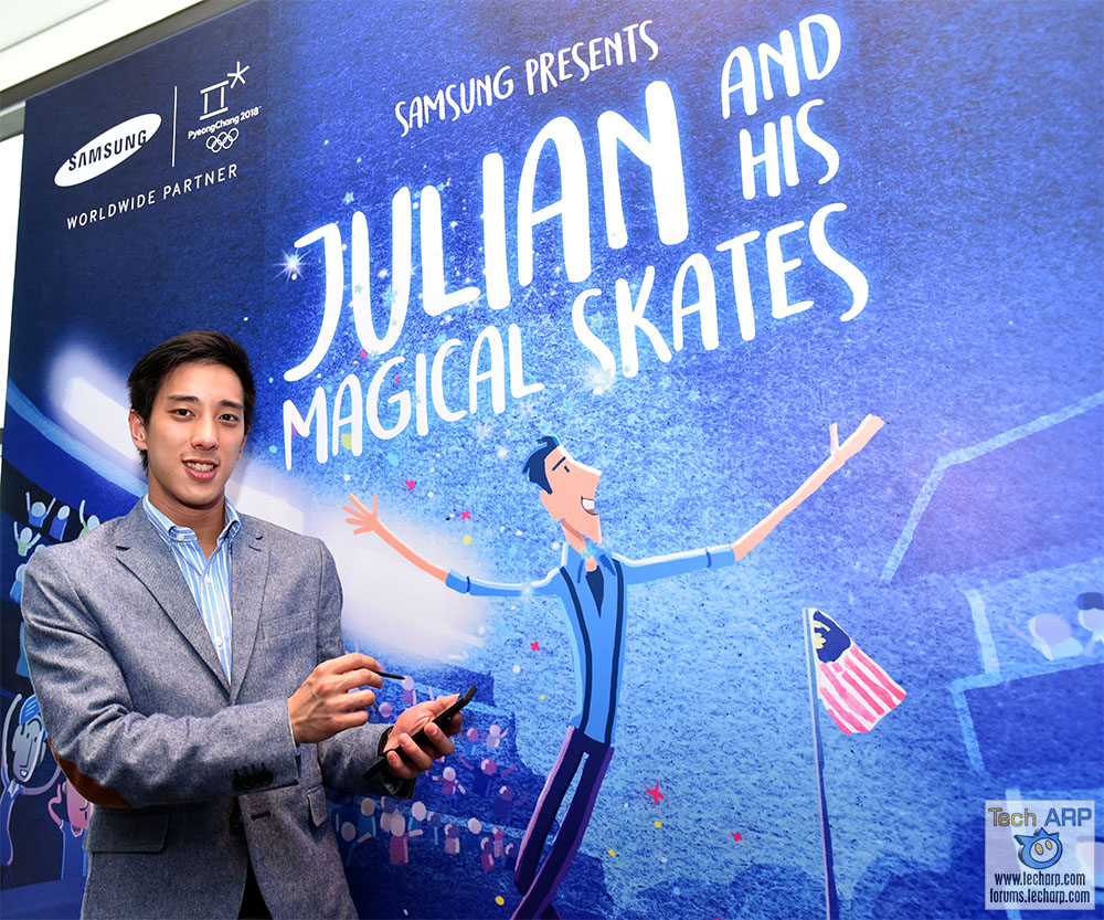 Samsung Presents Julian And His Magical Skates!