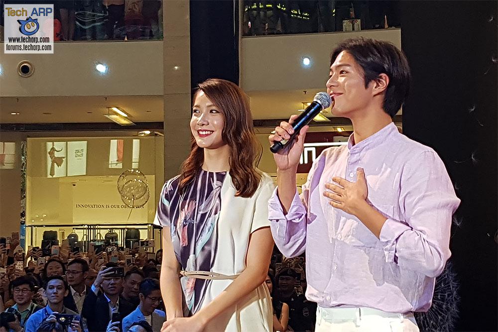 Park Bo-gum Galaxy S9 launch 03