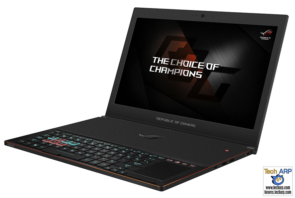 The 2018 ASUS ROG Gaming Laptops Revealed! - ROG Zephyrus GX501