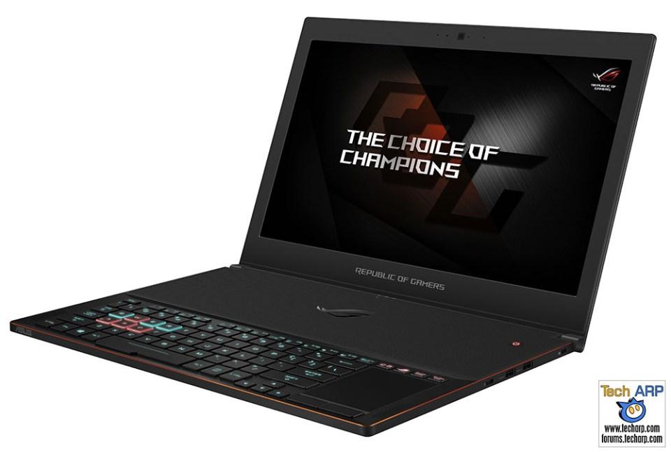 The 2018 ASUS ROG Gaming Laptops Revealed! - ROG Zephyrus GX501