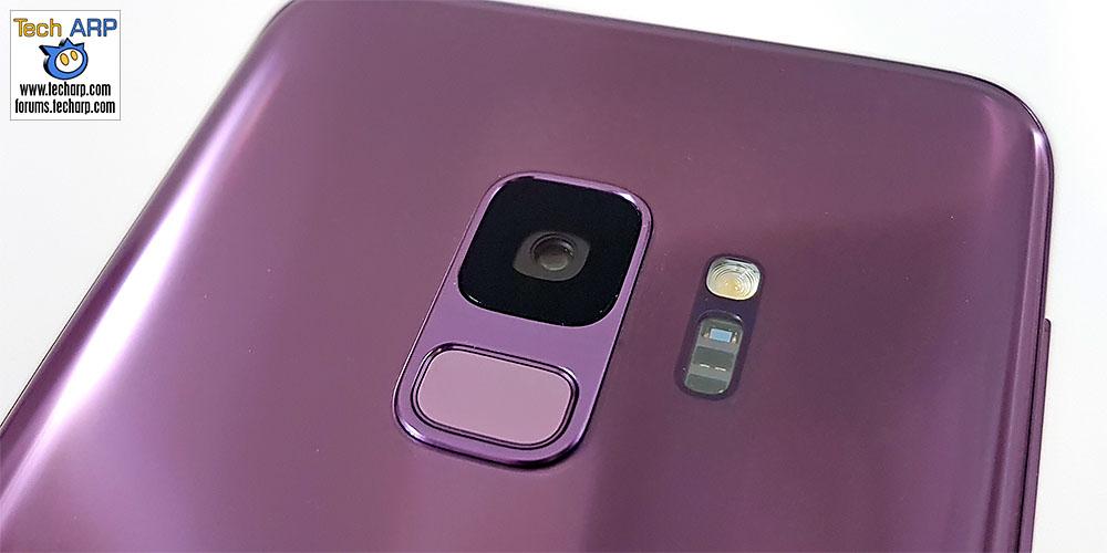Samsung Galaxy S9 dual aperture camera