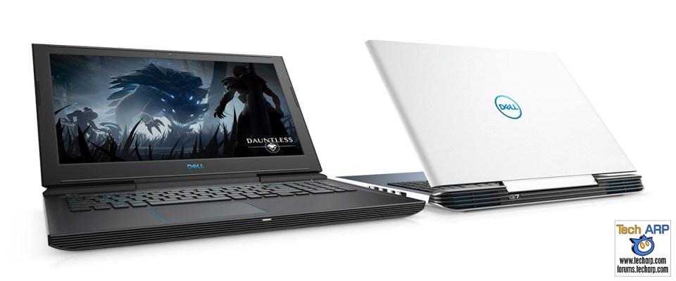 2018 Dell G7 laptops