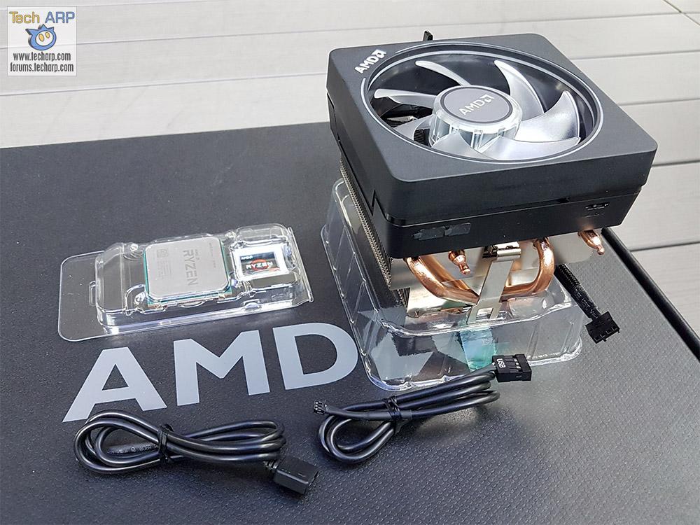 AMD Ryzen 7 2700X box contents
