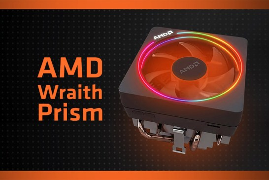 AMD Wraith Prism Preview - A Swirling Vortex Of Colour!