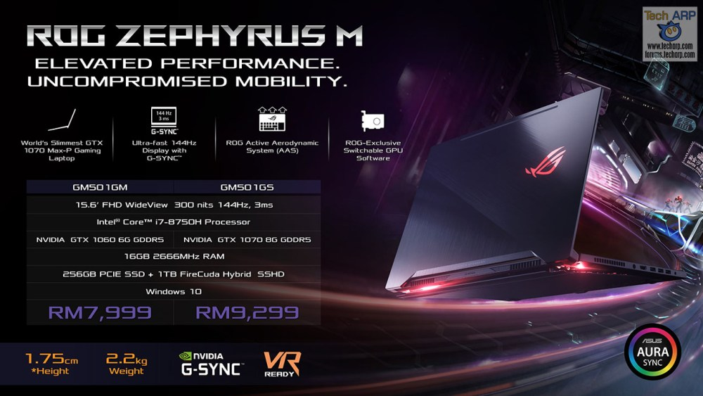 ASUS Coffee Lake Gaming Laptop - ASUS ROG GM501