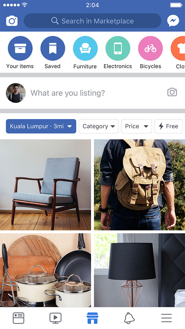 The Facebook Marketplace Is Now Open For Business!