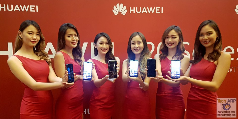 Huawei P20 Pro + P20 Smartphone Launch Event