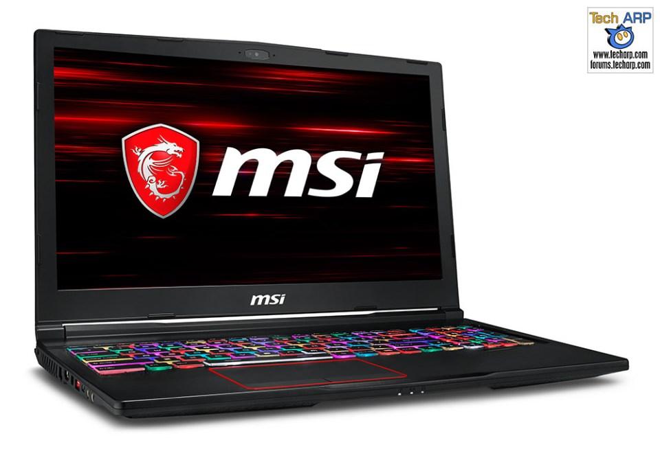 The MSI Coffee Lake Gaming Laptops Revealed - MSI GE63 Raider RGB