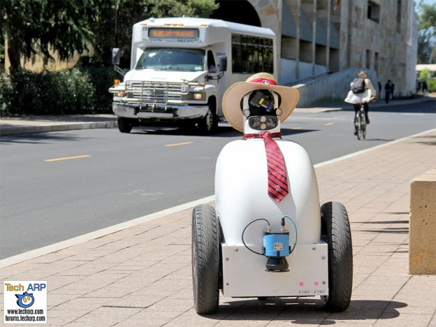 Jackrabbot : The Robot That Learns From Human Behaviour