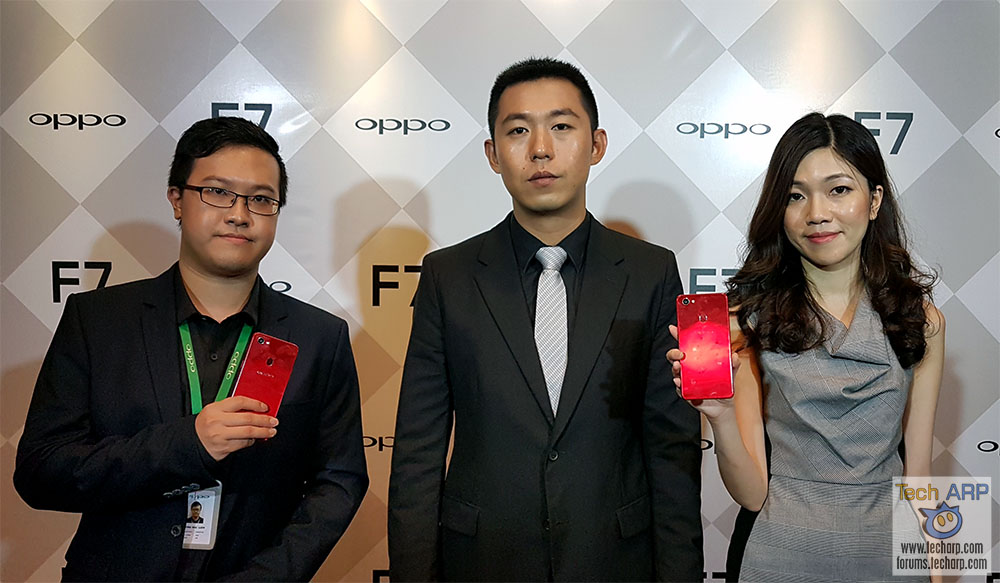 The OPPO F7 Launches With Hebe Tien + Neelofa!