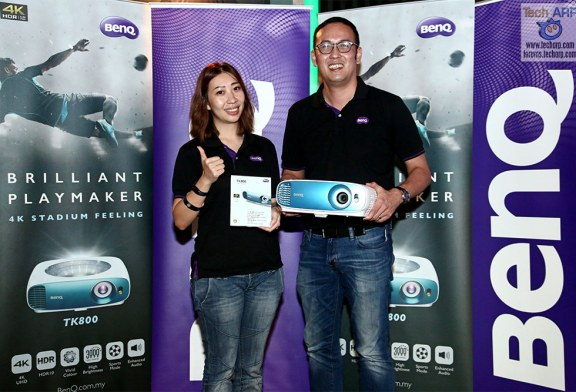 The BenQ TK800 4K HDR Projector Revealed!
