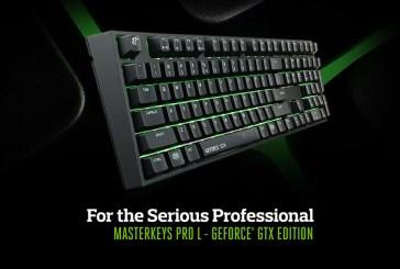 MasterKeys Pro L GeForce GTX Edition Keyboard Revealed!