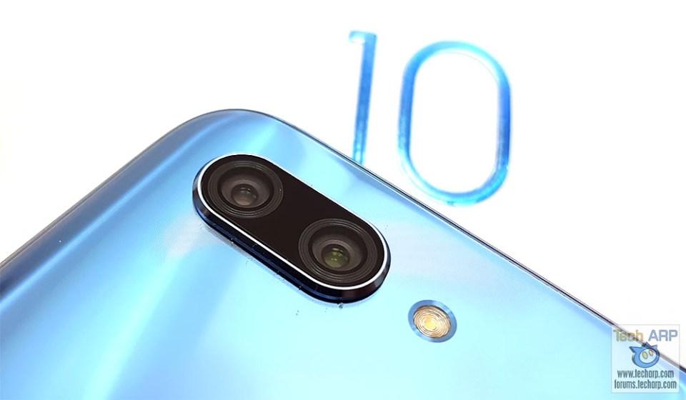 Honor 10 main camera