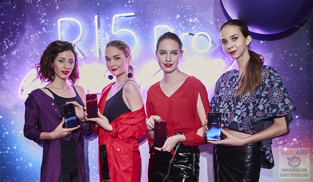 The OPPO R15 Pro with Dual 20MP AI Cameras Revealed!