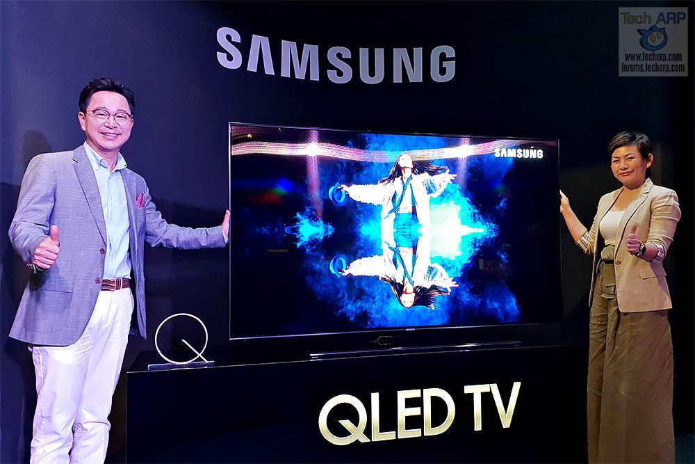 The 2018 Samsung QLED TV Range Revealed! - Tech ARP
