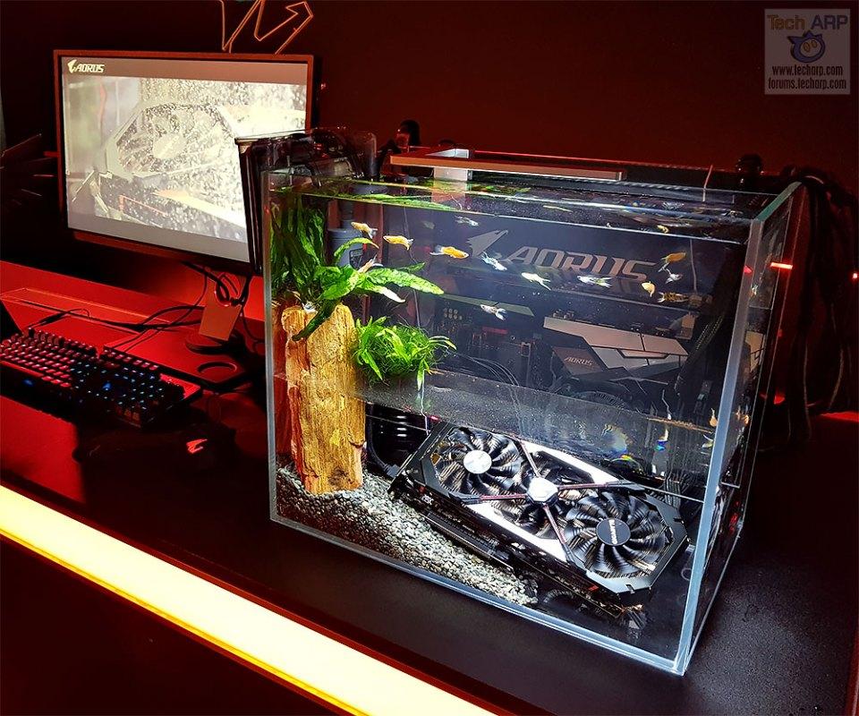 AORUS Aquarium PC Mod
