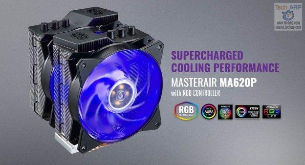 MasterAir MA620P CPU Cooler Revealed!