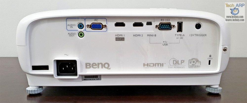BenQ TK800 back