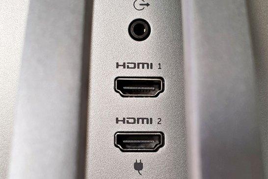 Dell S2719DM ports