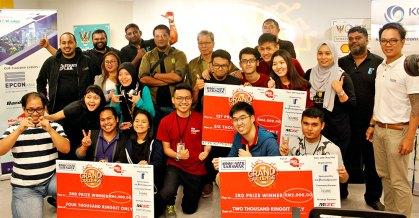 Grand Challenge 2018 02 - Sarawak winners