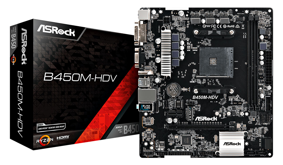 The First AMD B450 Motherboards Revealed! - ASRock B450 Motherboards