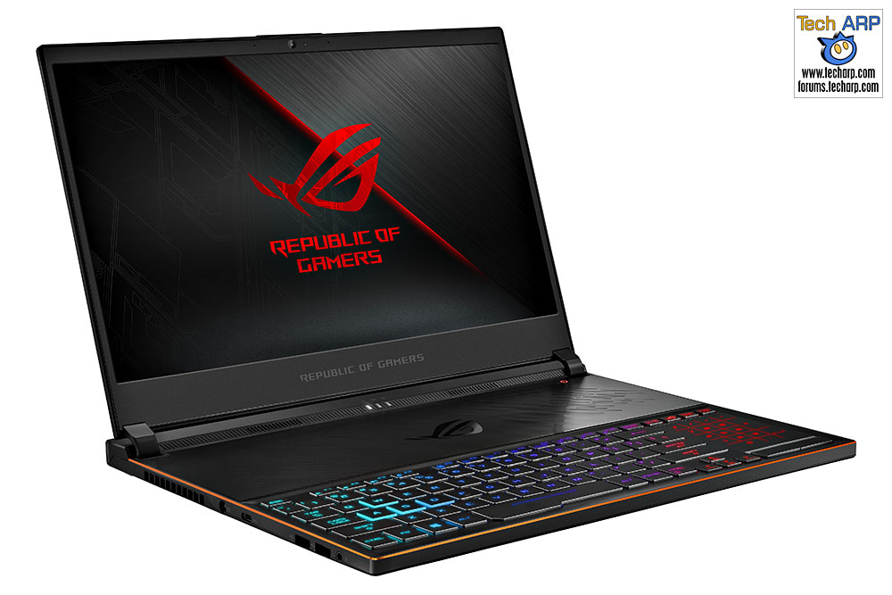 The ASUS ROG Zephyrus S (GX531) Gaming Laptop Preview