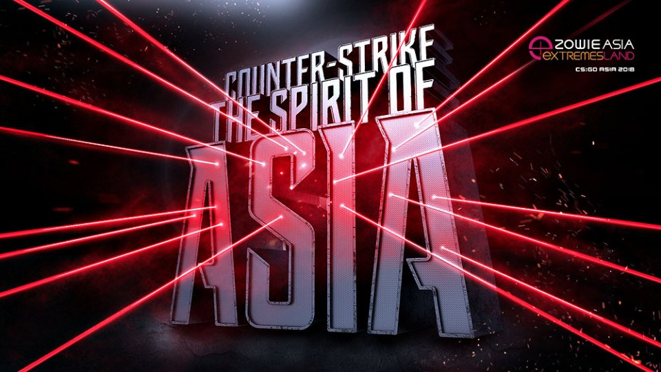 ZOWIE eXTREMESLAND CS:GO Asia Open 2018 Announced!