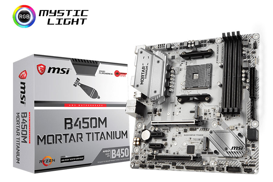 The First AMD B450 Motherboards Revealed! - MSI B450 Motherboards