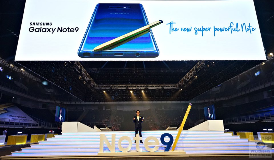 The Spectacular Samsung Galaxy Note9 Launch!