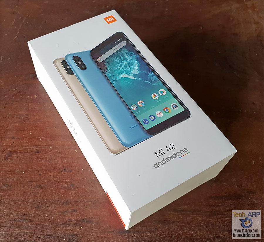 Xiaomi Mi A2 box