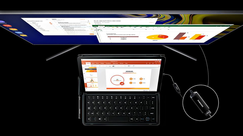 Samsung Galaxy Tab S4 DeX