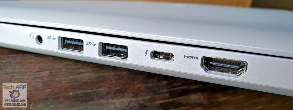 Dell G7 15 right ports