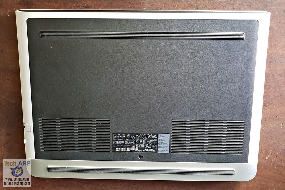 Dell G7 15 underside