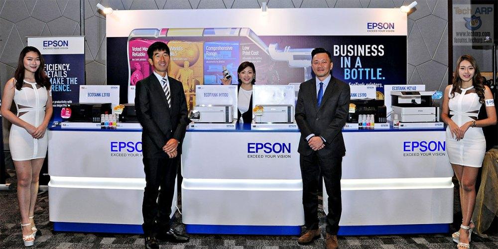 The Epson EcoTank Colour + Monochrome Printers Revealed! - Tech ARP