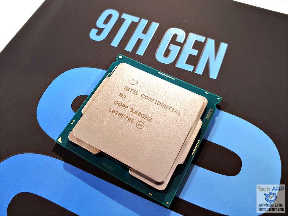 Intel Core i9-9900K processor box front