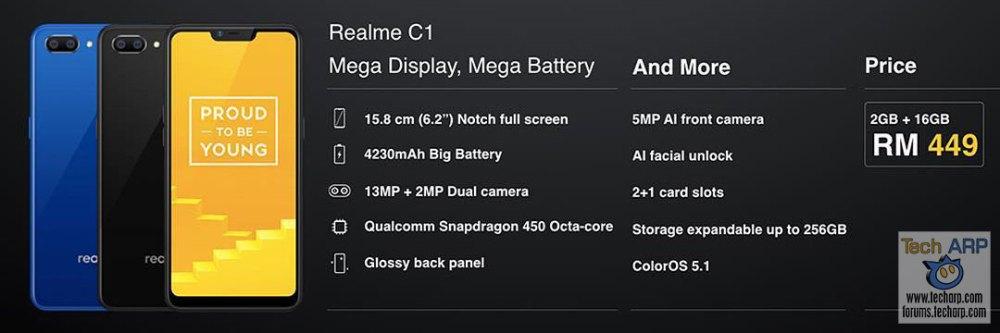 Realme C1 Malaysia price