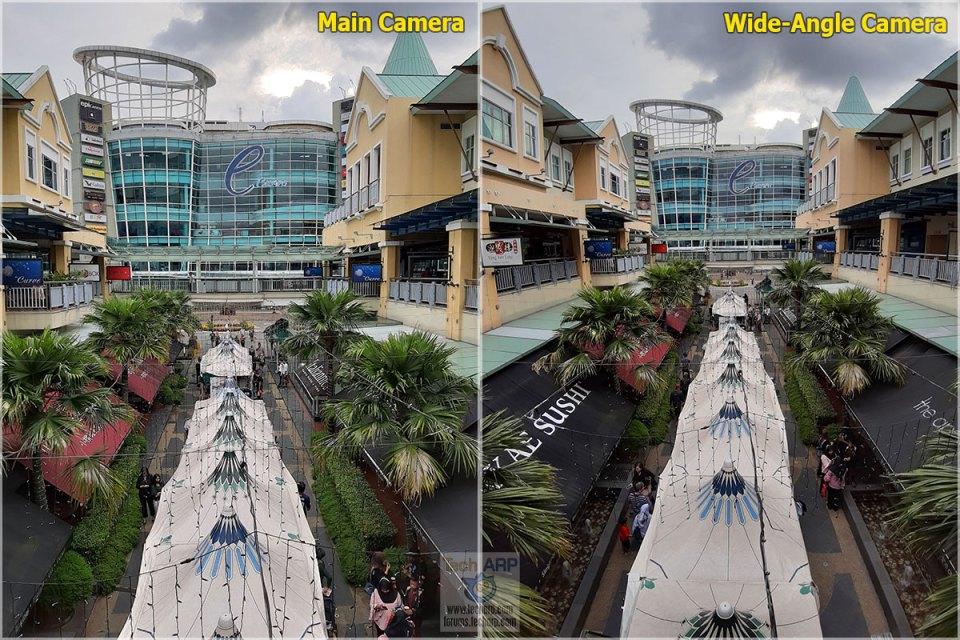 Samsung Galaxy A7 2018 camera comparison 01