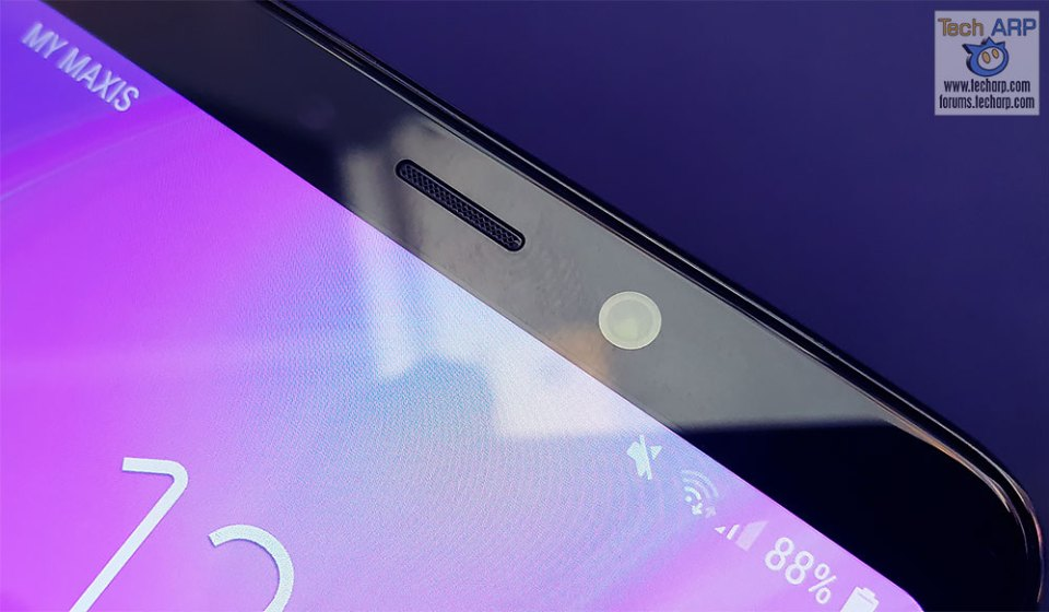 Samsung Galaxy A9 2018 front camera