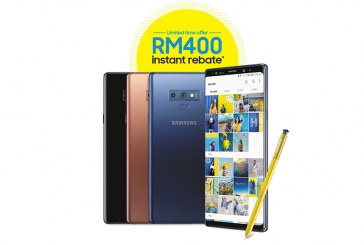 Save RM 400 With This Samsung Galaxy Note9 Rebate!