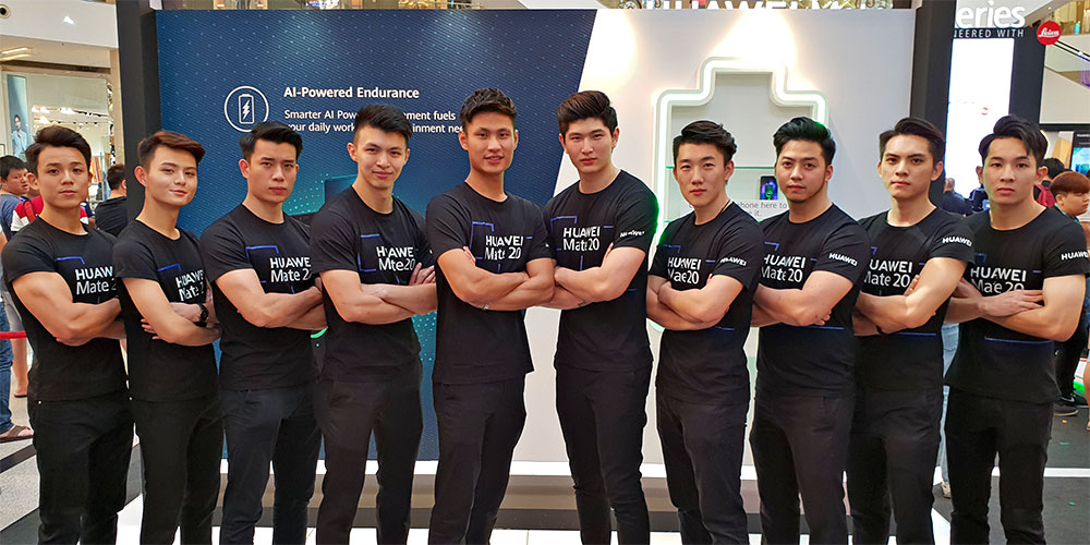 The Spectacular HUAWEI Mate20 Sales Launch + Roadshow!