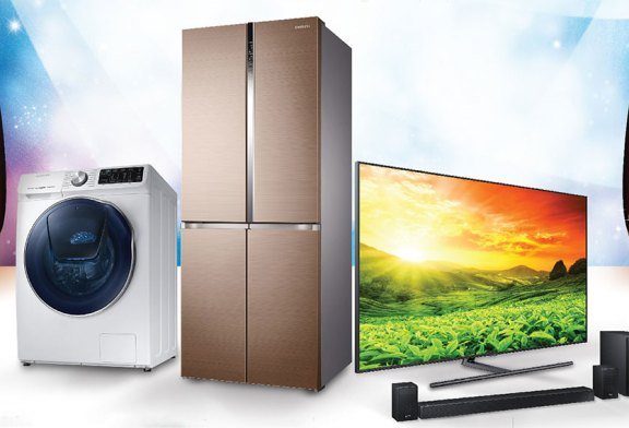 The 2018 Samsung Year End Sale On Home Appliances!