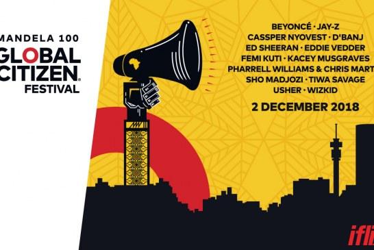 iflix To Broadcast Global Citizen Festival – Mandela 100!