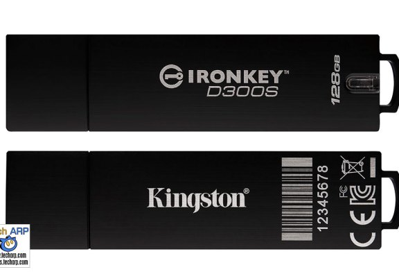 Kingston IronKey D300S Encrypted USB Drive Launched!