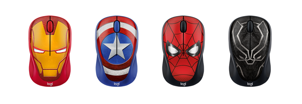 Logitech M238 MARVEL Wireless Collection