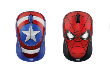 The Logitech M238 Marvel Wireless Mouse Has Arrived!