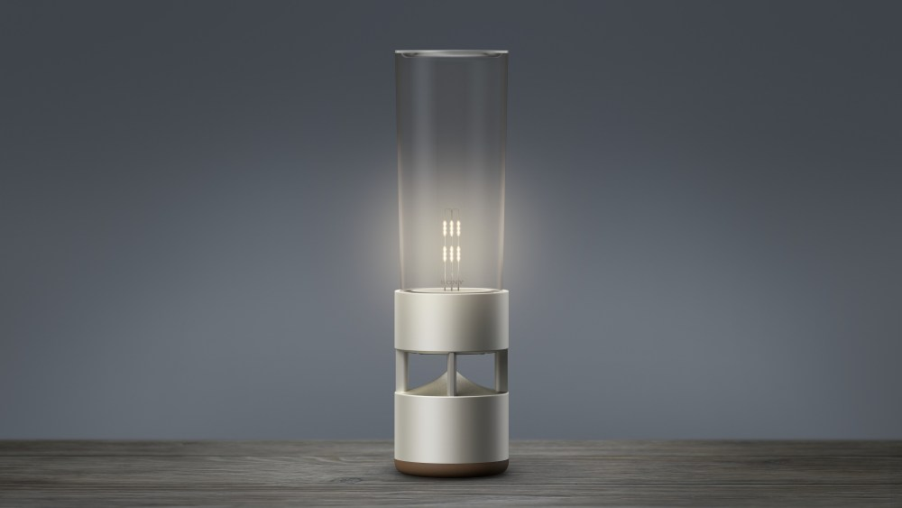 Life Space UX With Glass Sound Speaker LSPX-S1