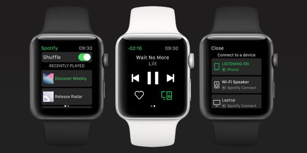 New Spotify for Apple Watch App Announced!