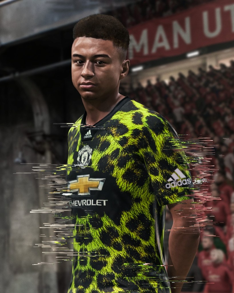 adidas Football EA SPORTS limited edition jersey Manchester United