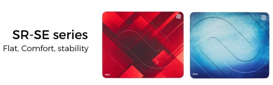 BenQ ZOWIE G-SR-SE Red Esports mousepads